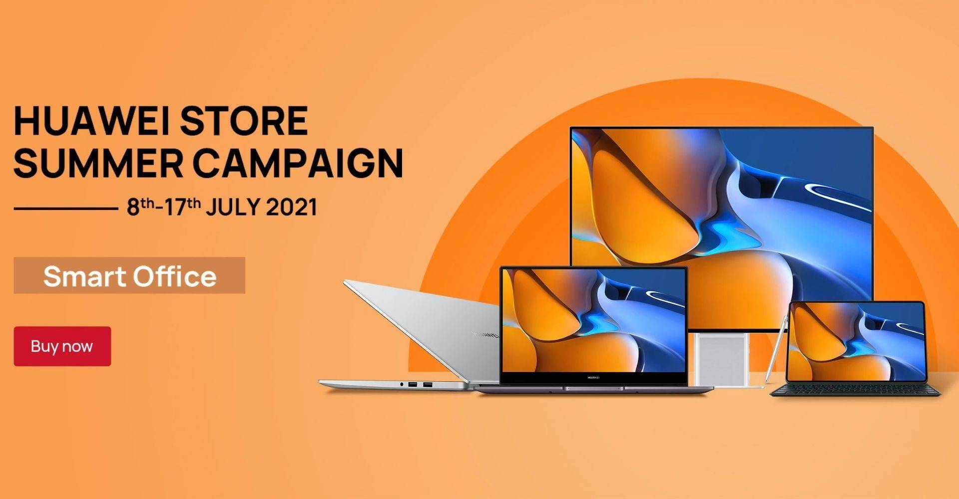 Huawei Store Summer Campaign