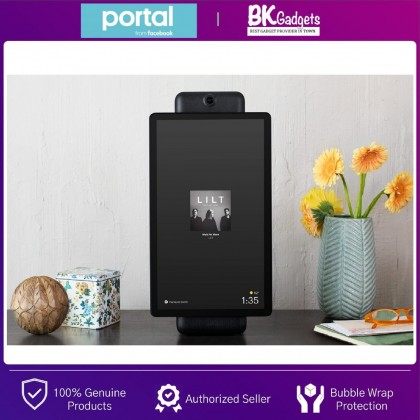 """FACEBOOK Portal Plus 15.6"""" - Smart Video Calling on the Largest Portal Screen Touch Screen Display Smart Speaker with Alexa"""