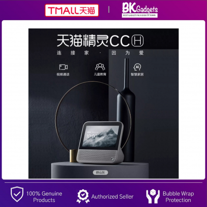 TMALL Genie CCH Build in Tmall Genie Smart Assistant - Smart AI Speaker with 7 Inch LCD Display Touch Screen   Camera