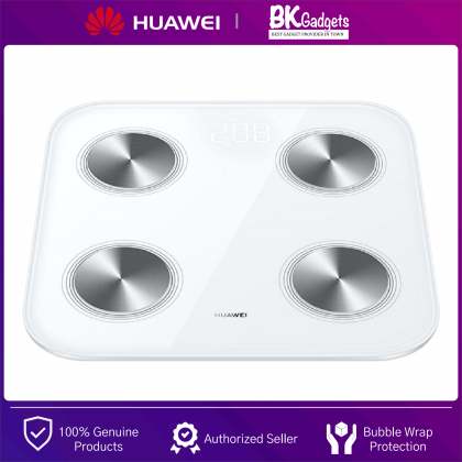 Huawei Smart Body Fat Scale 3 - Bluetooth   WIFI   Body Fat Weight   BMI Scale   9 Body Compositions in 1 Detection