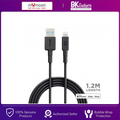 MYMOSH USB to Lightning Cable [ Apple MFI Certified ] Compatible for IPHONE, IPAD, IPOD | 1.2M LENGTH