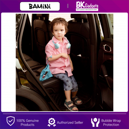 BAMINI Healthy - Child Stereo Foldable Over-Ear Wired Headphone | Low Decibel Hearing | Early Childhood Education with Microphone | Volume Control