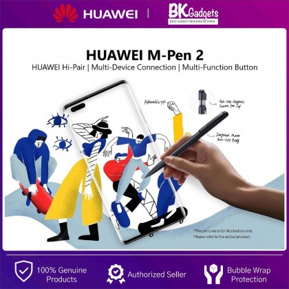 HUAWEI M-Pen 2 [ For MatePad Pro, Mate40 Series ] - Huawei HiPair   Plug Play Charge   Multi-Device Connection