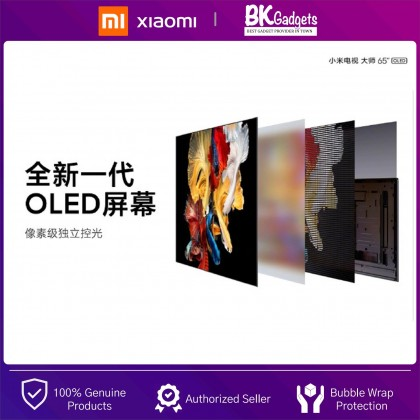 """XiaoMi LED Smart TV Master Series 65"""" OLED 4K UltraHD [ Chinese Version ] - Cinematic Surround Sound 