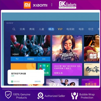 """XiaoMi LED Smart TV E55X 55"""" 4K FHD [ Chinese Version ] - Dolby Audio 