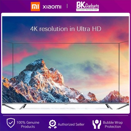 """XiaoMi LED Smart TV E65X 65"""" 4K Ultra HD [ Chinese Version ] - Dolby Audio    DTS HD   60Hz   1 Year Malaysia Warranty"""