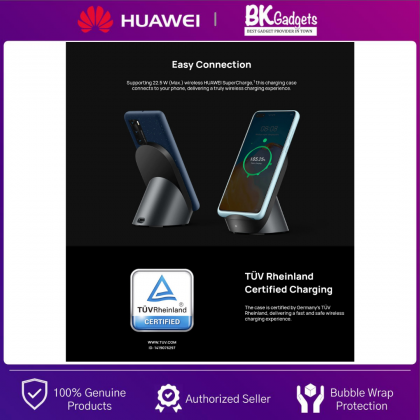 HUAWEI P40 Original Wireless Charging Protective Casing - 22.5W [ Max ] Compatible with Multiple Chargers