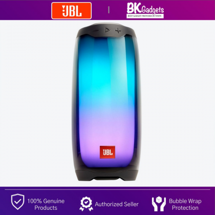 JBL Pulse 4 Portable Waterproof Speaker - IPX7 Waterproof | 12H Play Time | Dazzling LED Light Show all in 360 Degrees