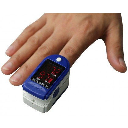 Fingertip Pulse Oximeter - High Brightness OLED Screen   One Button Operation   Fast Measure  