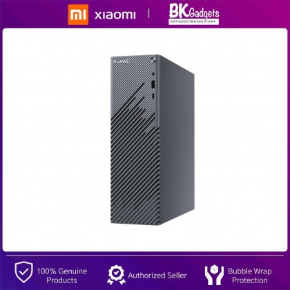 HUAWEI MateStation S R5 [ 8GB + 256GB + Radeon ] Space Grey Desktop - Small From Factor   Sleep-conducive Noise Levels   Fingerprint Security   Huawei Share