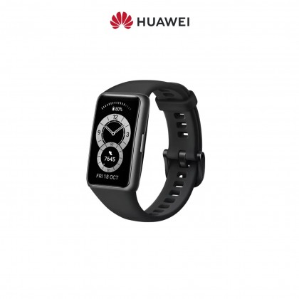 HUAWEI Band 6 Smart Fitness Tracking - All-Day SpO2 Monitoring   FullView Display   2-Week Battery Life