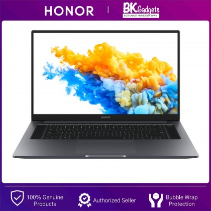 """HONOR MagicBook Pro R5 2021 [ 16GB + 512GB ] Space Gray Laptop   16.1"""" FullView Display   Fingerprint Power Button   65W Fast Charging   Aluminum Metal Body"""