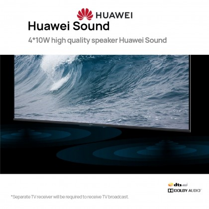"""HUAWEI Vision S 55"""" Smart TV - 13MP Camera   Harmony OS   1080P Video Call   120Hz Refresh Rate   4 Speaker Huawei Sound   Huawei Share"""