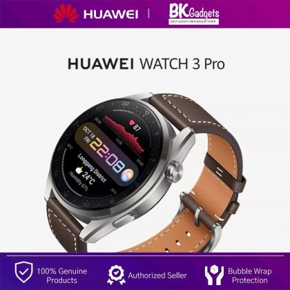 HUAWEI WATCH 3 Pro Smart Watch 46MM - eSIM Cellular Calling | Health Management | Up To 5-Day Battery Life | FREE Strap