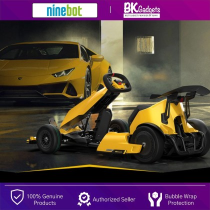 Ninebot Go Kart Pro [ Lamborghini Limited Edition ] - Top Speed Up to 40km/h | Foldable Frame | Max Running Distance Up to 25 km