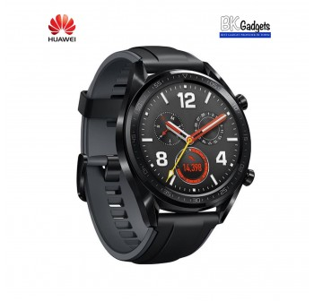 HUAWEI WATCH GT Black 46mm + FREE STRAP