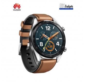 HUAWEI WATCH GT Brown 46mm + FREE STRAP