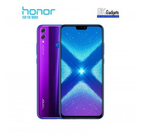 Honor 8X 4/128GB Phantom Blue - Original from Honor Malaysia 1 Year Warranty