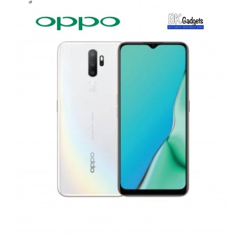 OPPO A5 2020 3/64GB Dazzling White - Original from OPPO Malaysia 1 Year Warranty