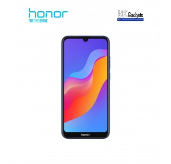 HONOR 8A Blue [ 3GB + 64GB ] Smartphone + FREE Band 4 Running