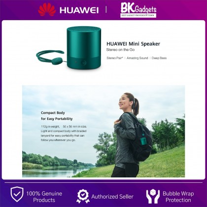 HUAWEI CM510 Mini Speaker - Stereo Pair | Deep Bass | Water Resistant | Light and Compact