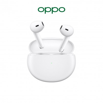 OPPO Enco Air True Wireless Earbuds - 24H Battery Life l IPX4 Water Resistant l DNN Noise Cancellation l Sound You Can See