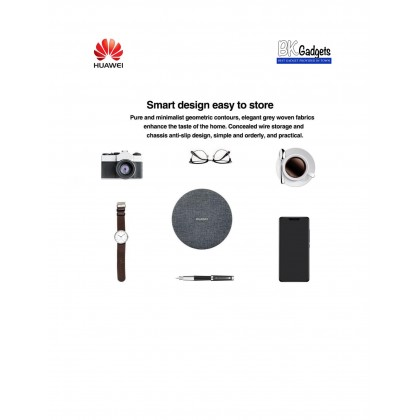 HUAWEI S1 Memory Backup with Wireless Charger [ Grey ] + 1TB Memory Storage