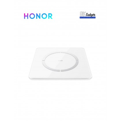Honor Body Fat Scale 2 [ White ] + BMI + Heart Rate + Visceral Fat + BMR + Muscle Mass + Bone Mass + Body Water Percentage