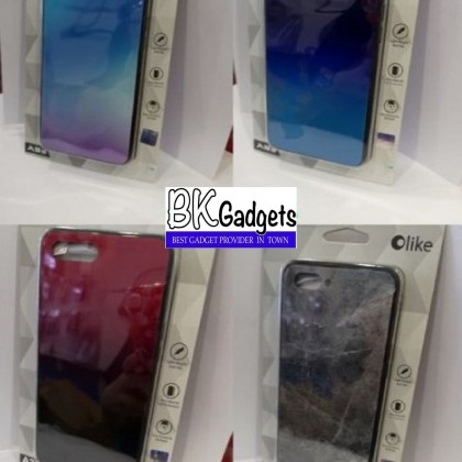 OPPO A12e/A3s Original Olike Back Casing + FREE Tempered Glass