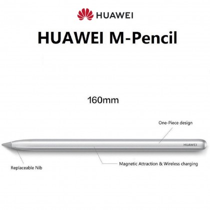HUAWEI M Pencil Gen1 - Magnetic Attraction Wireless Charging [ For Matepad Pro, Matepad 10.4 ]