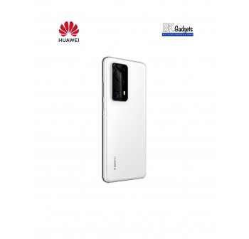 HUAWEI P40 Pro Plus Ceramic White [ 8GB + 512GB ] Smartphone + FREE Supercharge Wireless Charger