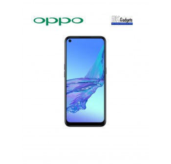 OPPO A53 Electric Black [ 4GB  + 64GB ] Smartphone