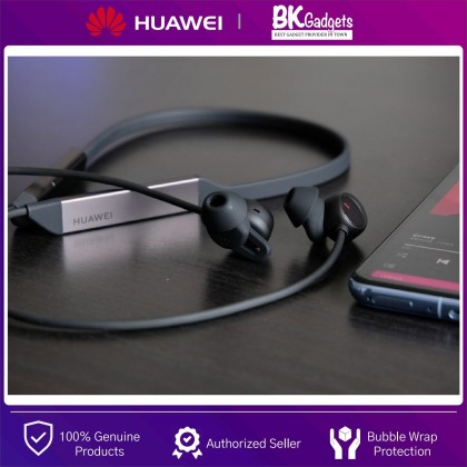 HUAWEI Freelace Pro Earphone - Noise Cancellation   Huawei HiPair   Magnetic Snap   5 Hours Play Time