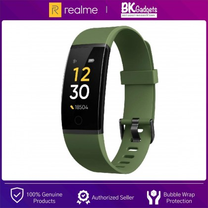 Realme Band - Large Color Display | Real-time Heart Rate Monitor | USB Direct Charge | 9 Sport Modes