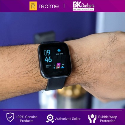 Realme Watch 37MM - Color Touchscreen | 24/7 Health Assistant Smart Connect | 14 Sport Modes | Blood-Oxygen Monitor
