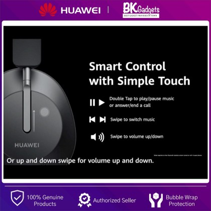 HUAWEI FreeBuds Studio [ Black ] - A Powerful Noise Cancellation | Omnidirectional 8 Microphone System
