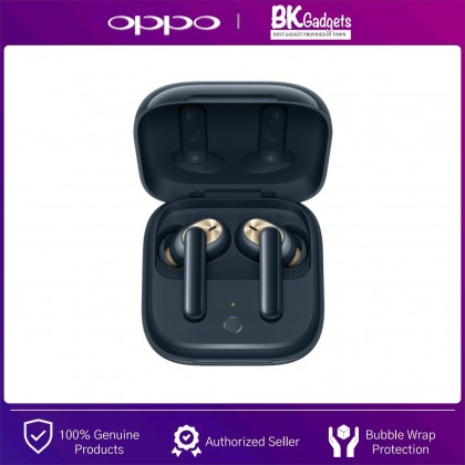 OPPO Enco W51 Bluetooth True Wireless Headphone - Qi Wireless Charging   Dual Technology for both Crystal Clear Music and Calls   IP54 Rated Dust and Water Resistance   Noise off World on