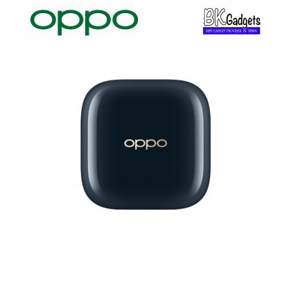 OPPO Enco W51 Bluetooth True Wireless Earbuds [ Starry Blue ] + Noise cancelling + Qi Wireless Charging + Dual Technology for both crystal clear Music and Calls + IP54 Rated Dust and Water Resistance
