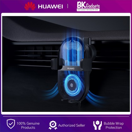 Huawei SuperCharge Wireless Car Charger 50W - 2 Ports   3D Air Cooling   Universal Compatibility